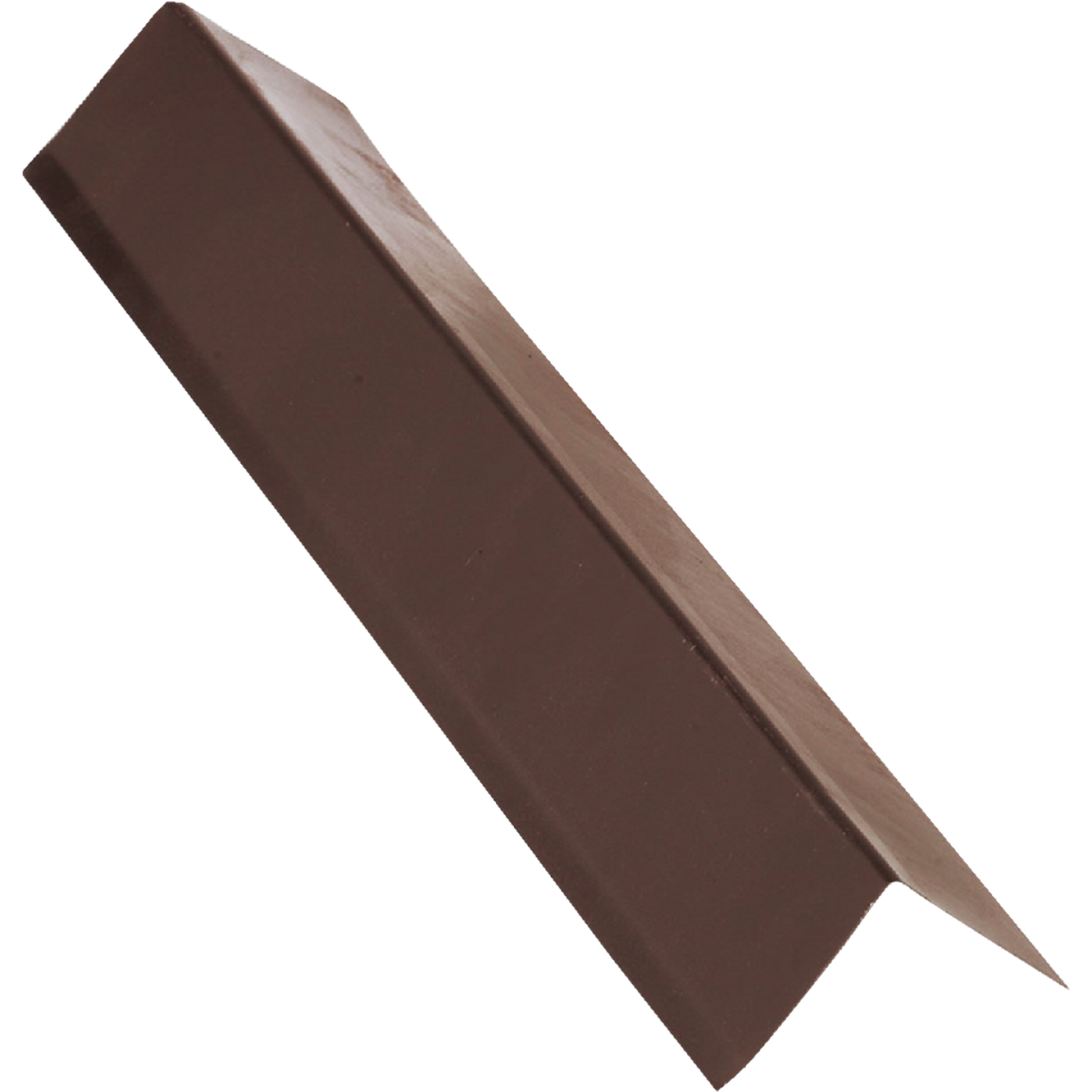 NorWesco A 1-1/2 In. X 1-1/2 In. Galvanized Steel Roof & Drip Edge Flashing, Brown Image 1