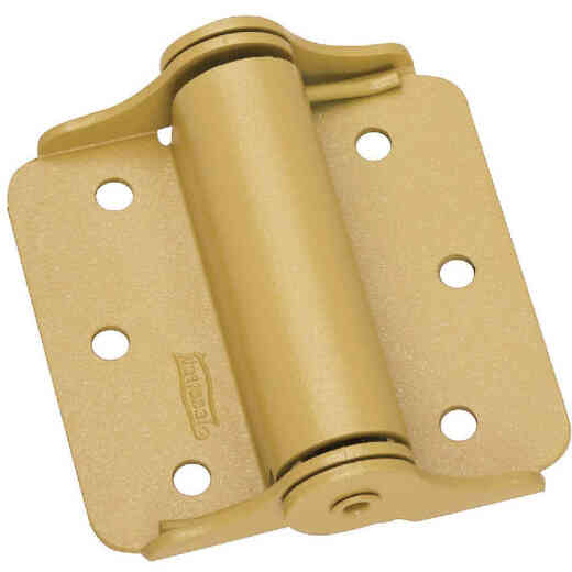 National 3 In. Heavy Spring Door Hinge (2-Pack)