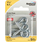 National #206 Zinc Small Screw Eye (5 Ct.) Image 2