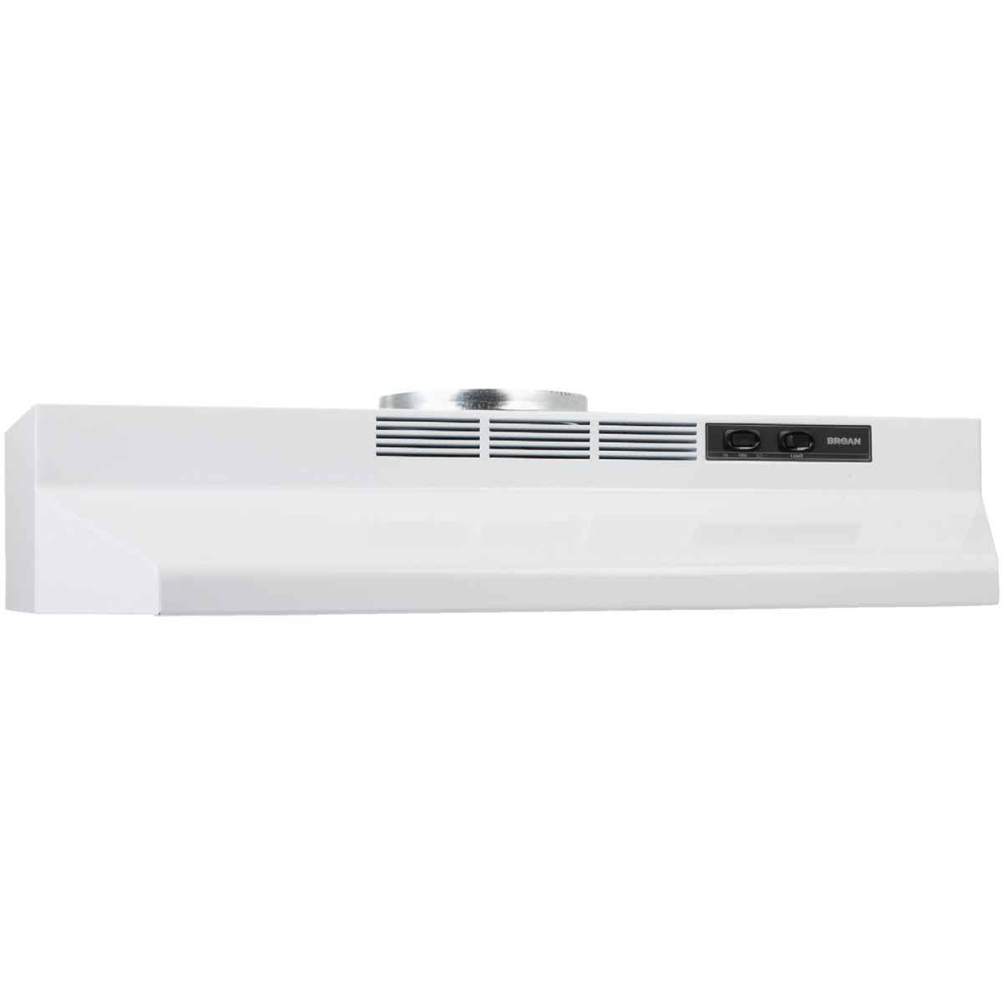 Broan-Nutone F Series 30 In. Convertible White Range Hood Image 3