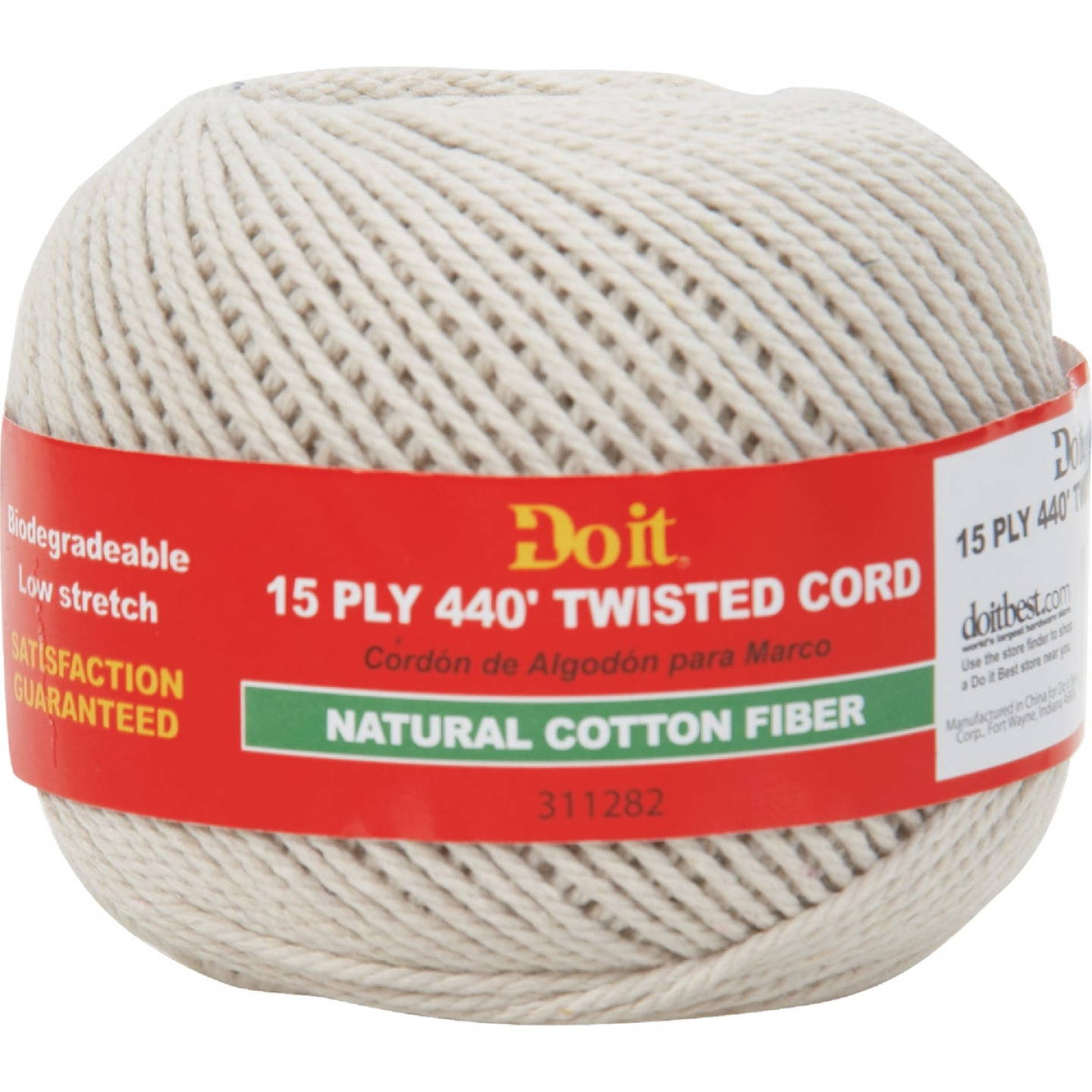 Do it 15-Ply x 440 Ft. Natural Twisted Cotton Cord Image 1