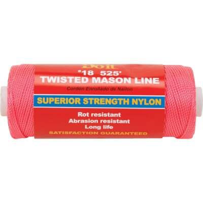 Do it 525 Ft. Fluorescent Pink Twisted Nylon Mason Line