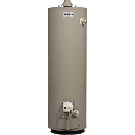 Reliance 40 Gal. Short 6yr 40,000 BTU Natural Gas Water Heater
