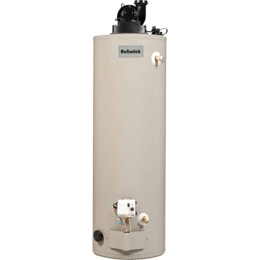 Reliance 50 Gal. Tall 6yr 50,000 BTU Liquid Propane (LP) Gas Water Heater with Power Vent