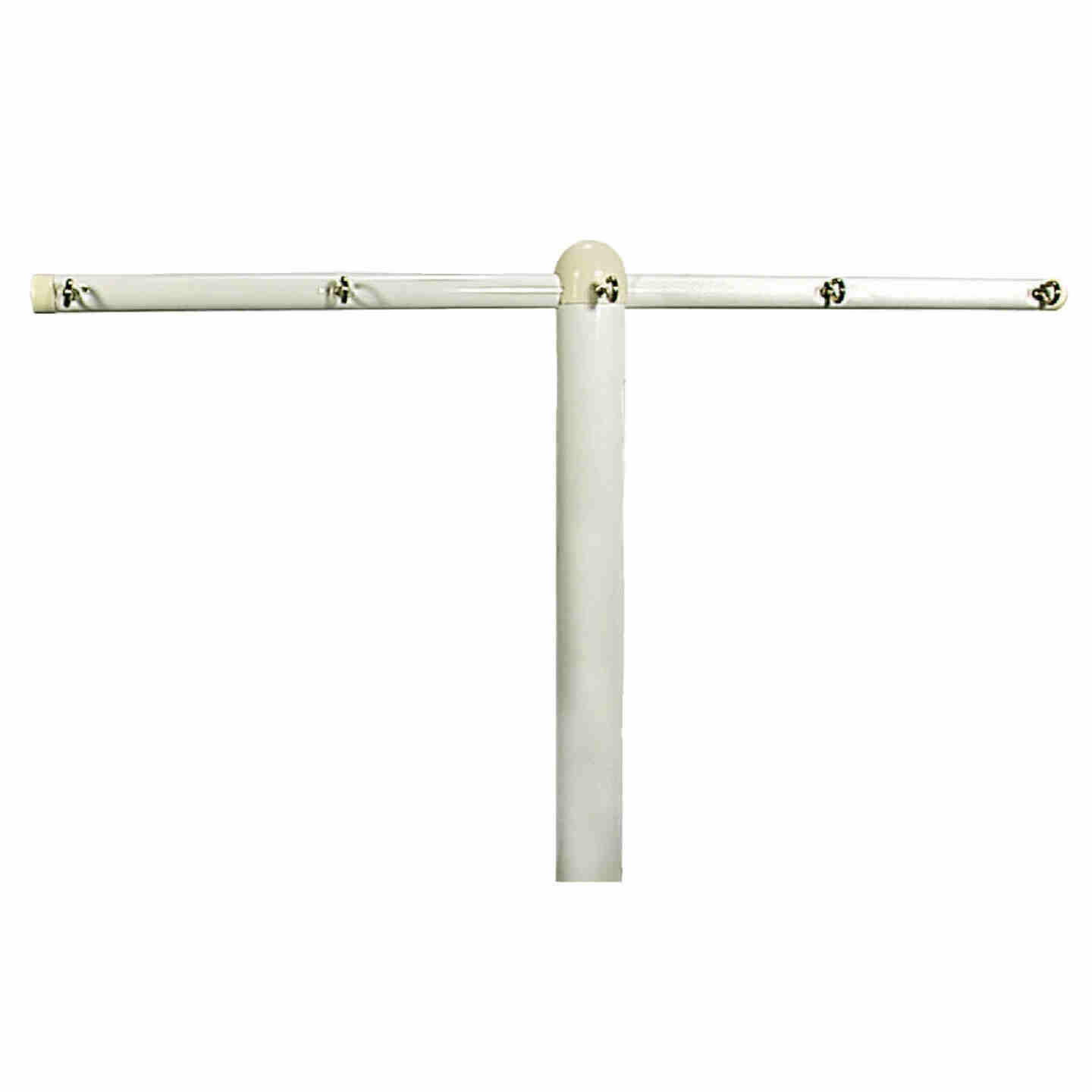 Household Essentials Sunline 6 Ft. 3 In. Steel Clothesline Post Image 1