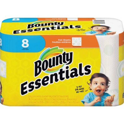 Bounty Essentials Paper Towel (8 Roll)
